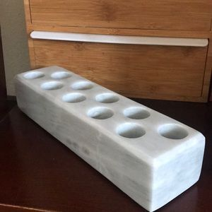 Shades of Stone Marble Essential Oil Holder